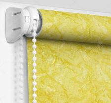 Рулонные шторы Мини - Шелк желтый