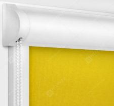 Рулонные кассетные шторы УНИ - Карина Желтый