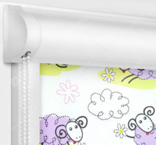 Рулонные кассетные шторы УНИ - Овечки