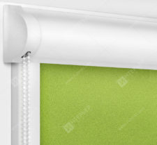 Рулонные кассетные шторы УНИ - Куба лайм