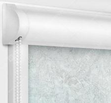 Рулонные кассетные шторы УНИ - Шелк жемчужно-серый