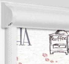 Рулонные кассетные шторы УНИ - Либерика блэкаут на пластиковые окна