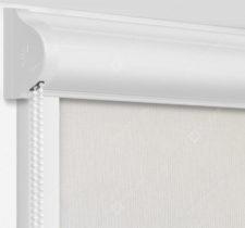 Рулонные кассетные шторы УНИ - Монако дымчатый на пластиковые окна